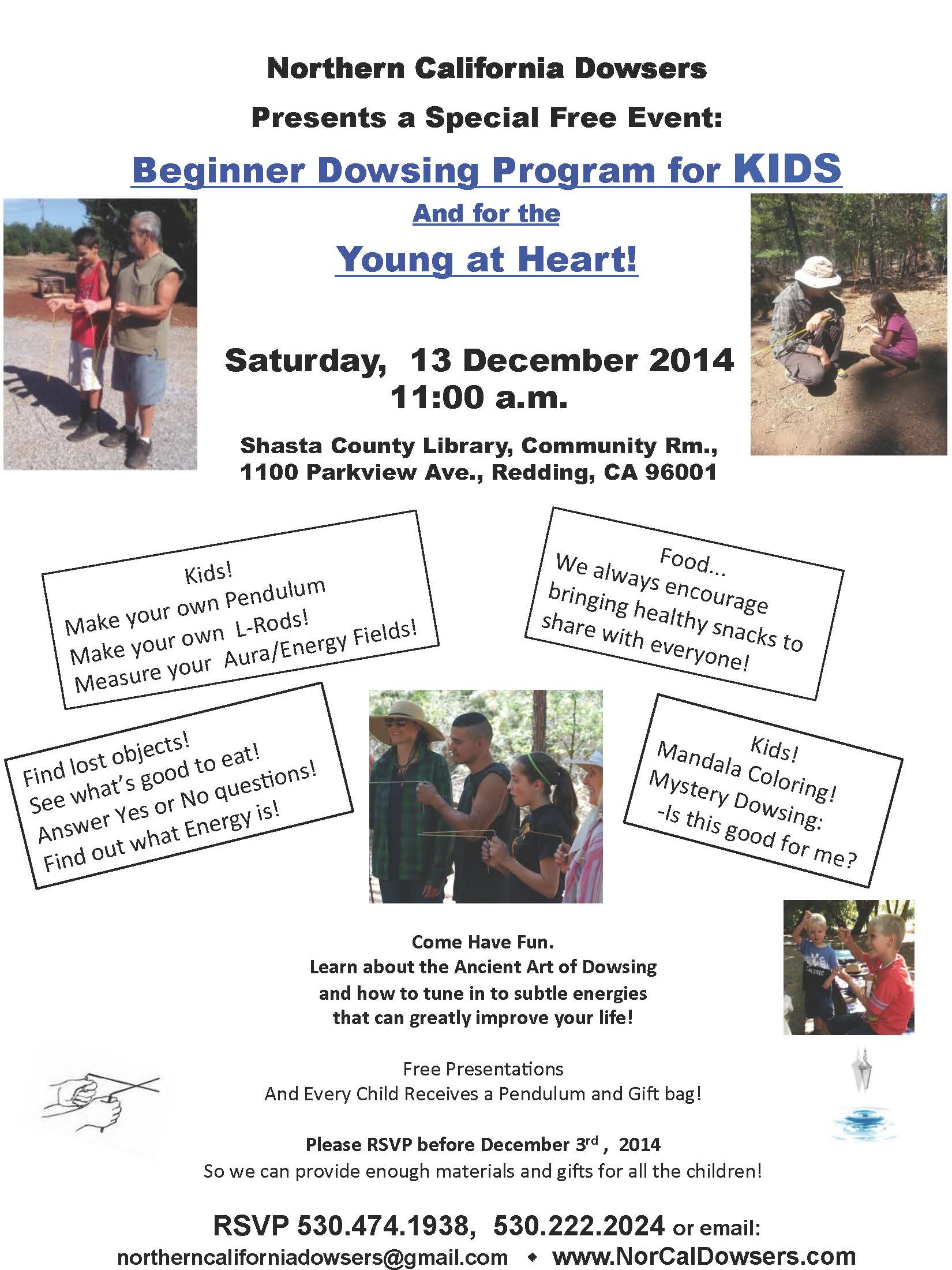 Dec Kids Program Flyer